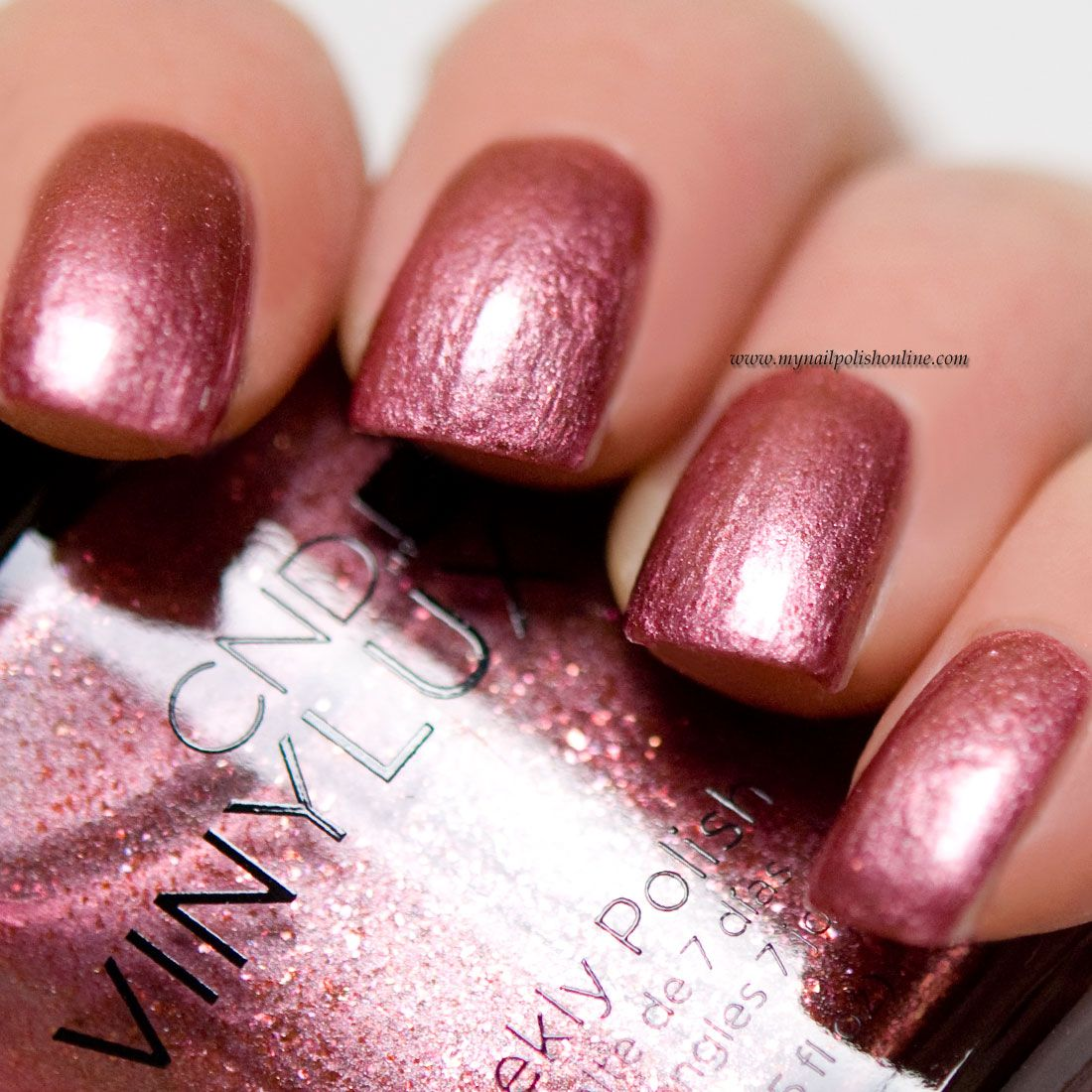 Nail Polish Colors Bronze: CND Vinylux - Untitled Bronze