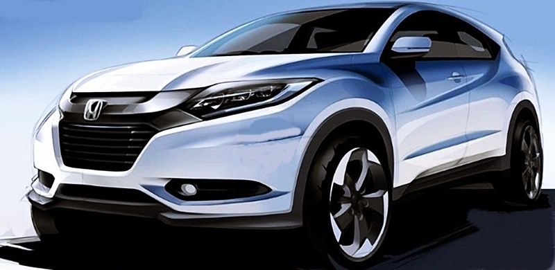 2020 Honda Hrv Rumors Honda Hr V Msrp Honda Hrv Car Design