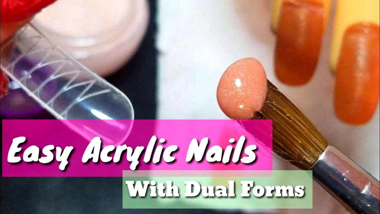 Easiest way to do acrylic nails for beginners acrylic