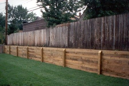 the incredible - Timber Retaining Wall Design