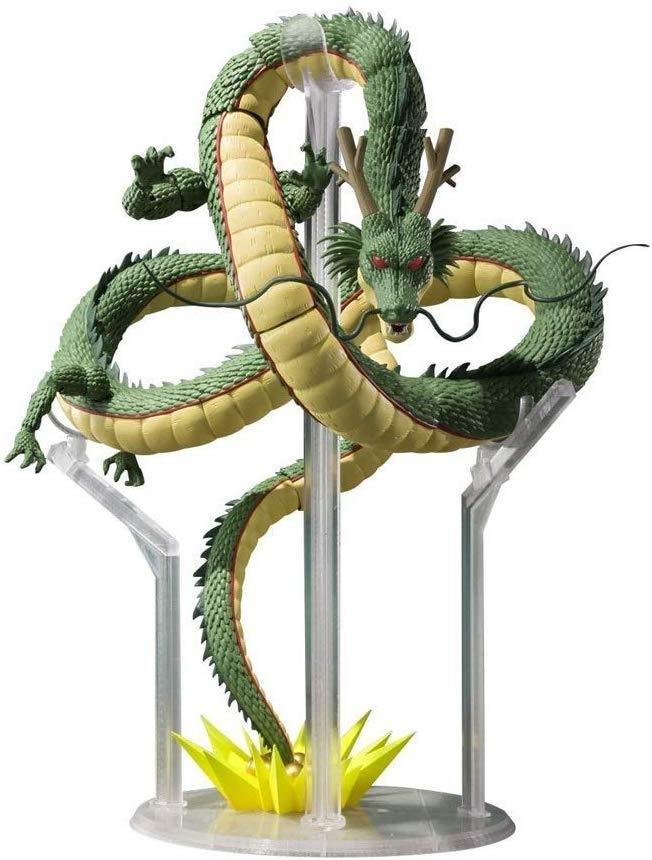 Formidable figura del dragon Shenlong, pide tus deseos, con 15 cm de altura y de pvc, una figura que adornara tu colección llevandose todas las miradas.