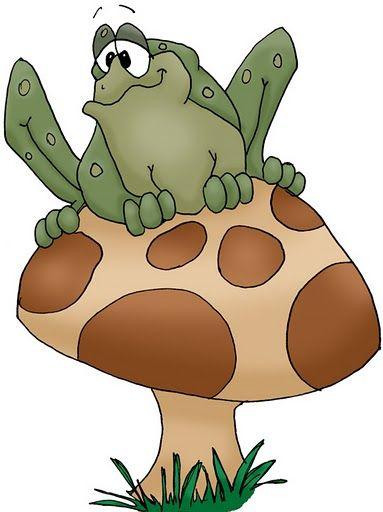 Картинки грибов анимаций, треугольником