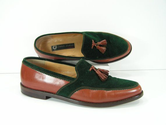 706d3653e Charles Jourdan dress shoes mens 11 D tassel by vintageshoescloset, $99.99