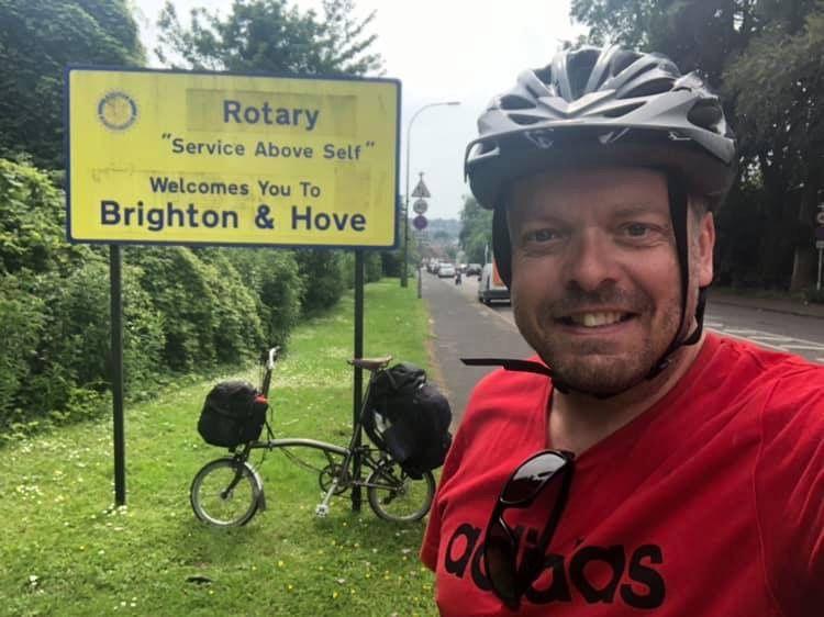 Idea By Colin Sheringham On Brompton Bike Touring Bike Tour