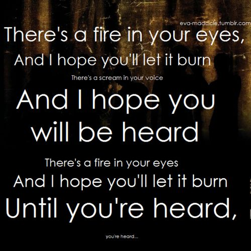 Red Jumpsuit Apparatus - Your Guardian Angel This song... oH MY ...