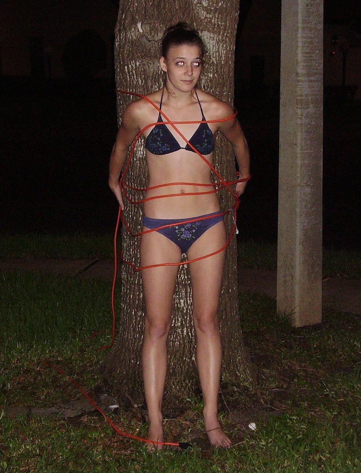 Outdoor Teen Delight  Bondage  Fashion, Style, Outdoor-7784