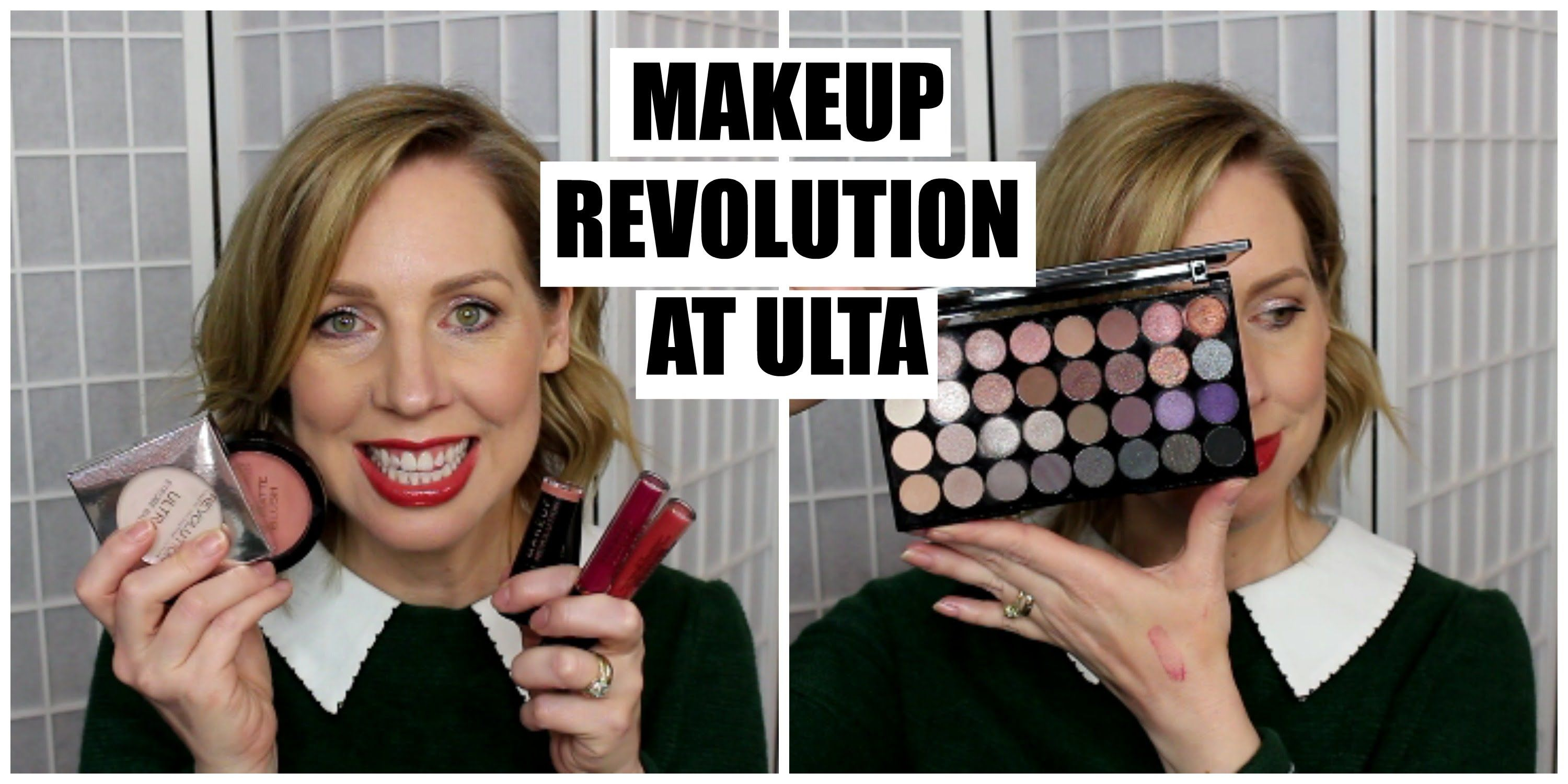 Makeup Revolution at ULTA Win a MR Palette from Me
