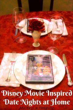 disney movie inspired date nights at home pinterest disney films