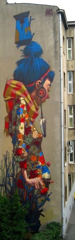 Streetart Etam Cru, Poland