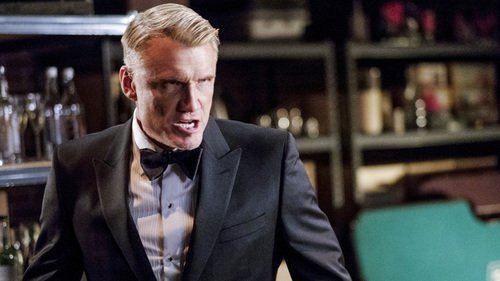 Arrow Season 5 Episode 17 Prometheus goes to extreme lengths to destroy Oliver. In flashbacks, Oliver's violent tendencies come to a head in a confrontation with Anatoly.