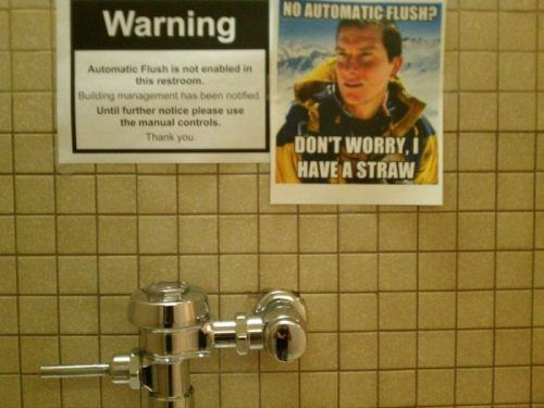 The Bizarre And Often Brilliant Messages Left In Bathrooms 47