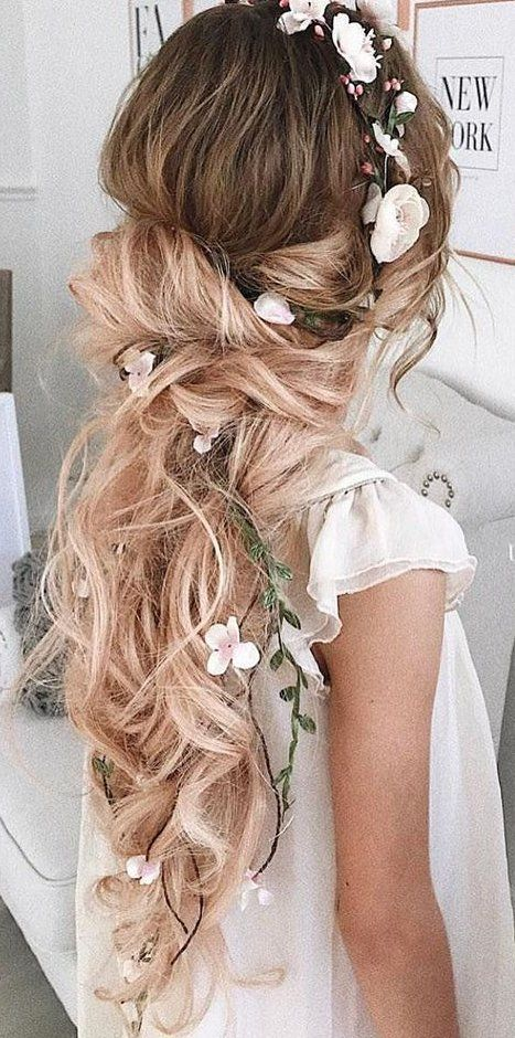 essential guide to wedding hairstyles for long hair #