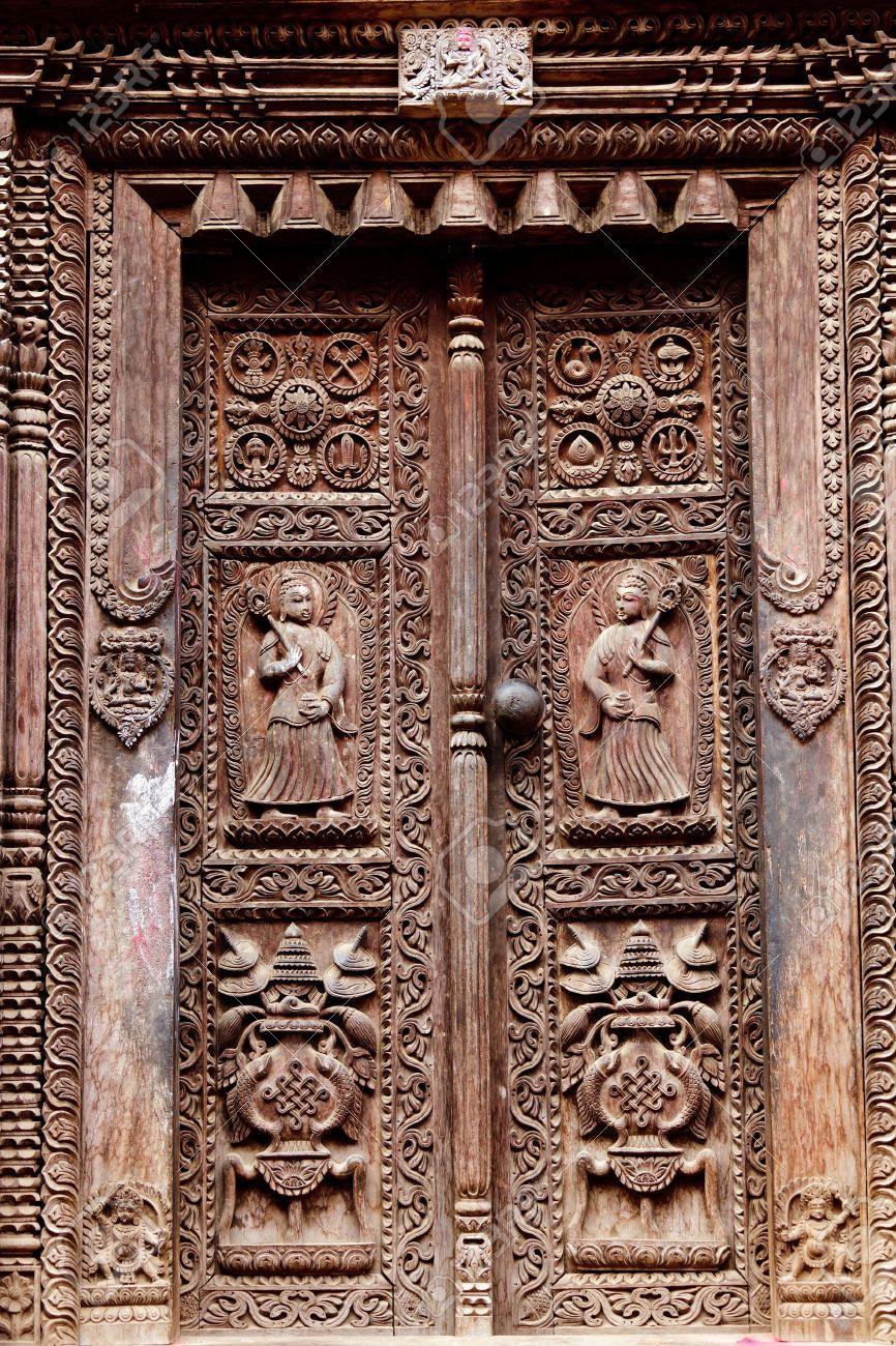 Old Hindu Temple Doors Google Search Hindu Temple