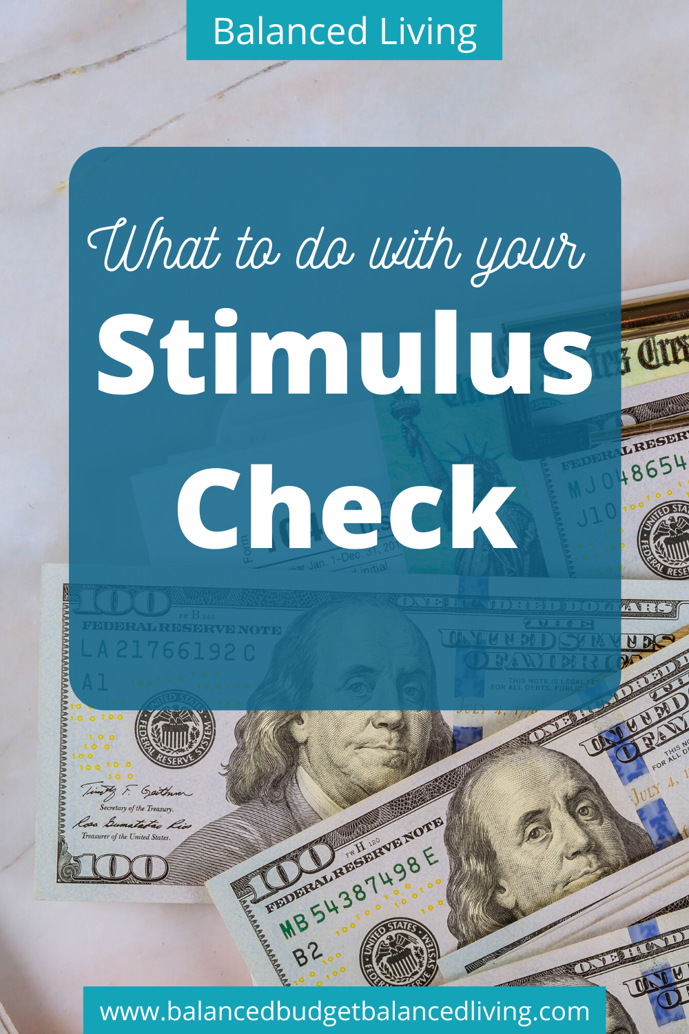 What To Do With Your Stimulus Check Personal Finance Budget Check And Balance Budgeting Finances