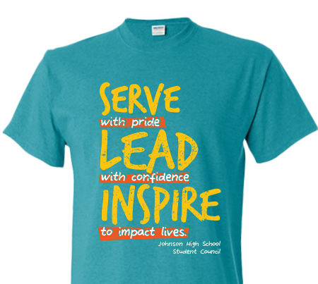 Spirit High School T-Shirt Design Tee Idea Student Council StuCo ...