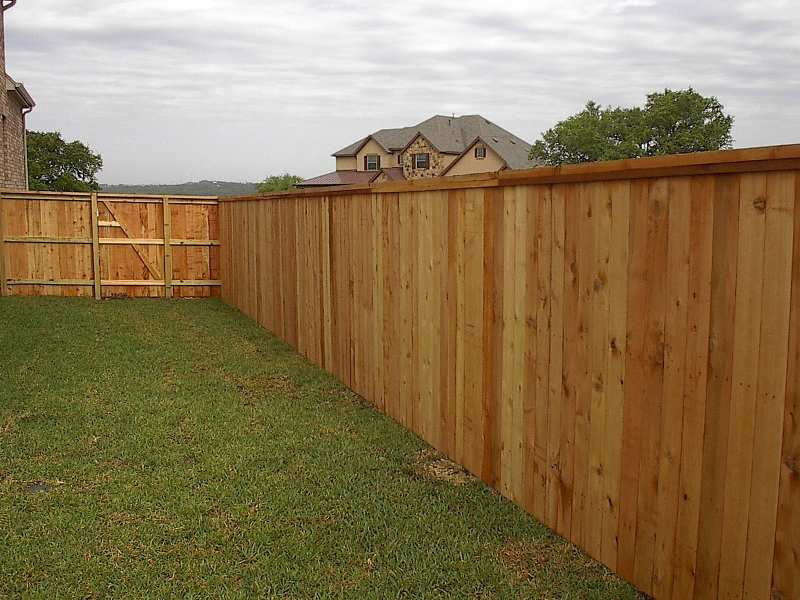 wood privacy fence styles AAA Fence Co Austin