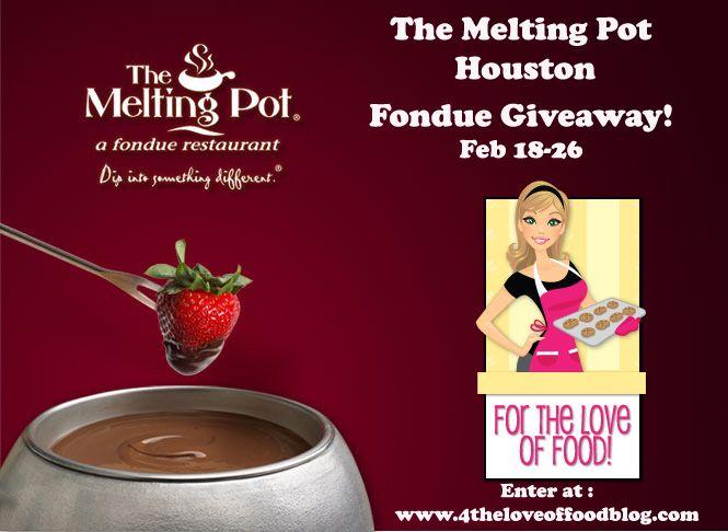 The Melting Pot's Flaming Turtle Chocolate Fondue