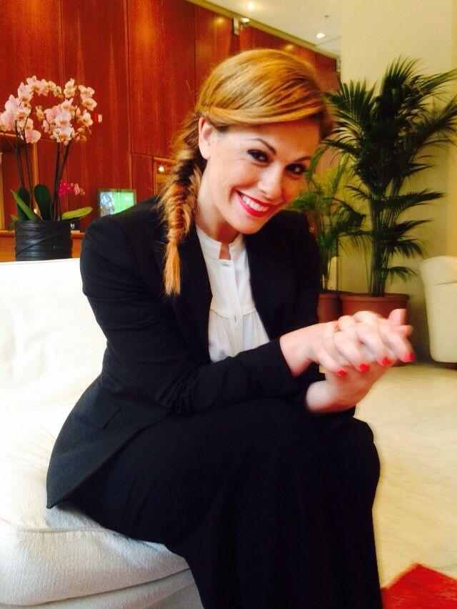 Vanessa Incontrada in #mantù #fw2015 #italiansgottalent #celebs #blacksuit #tuxedo