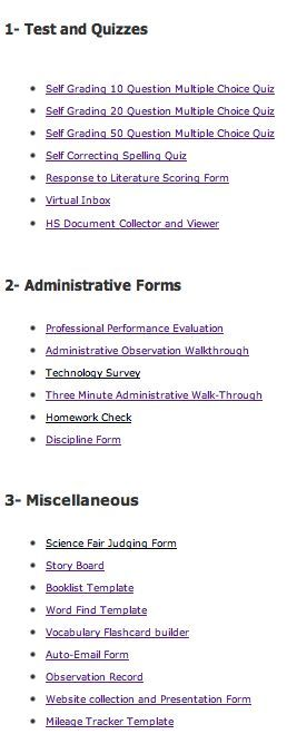 20 Google Forms for Teachers Formative assessment, Teacher and Google - formative assessment strategies