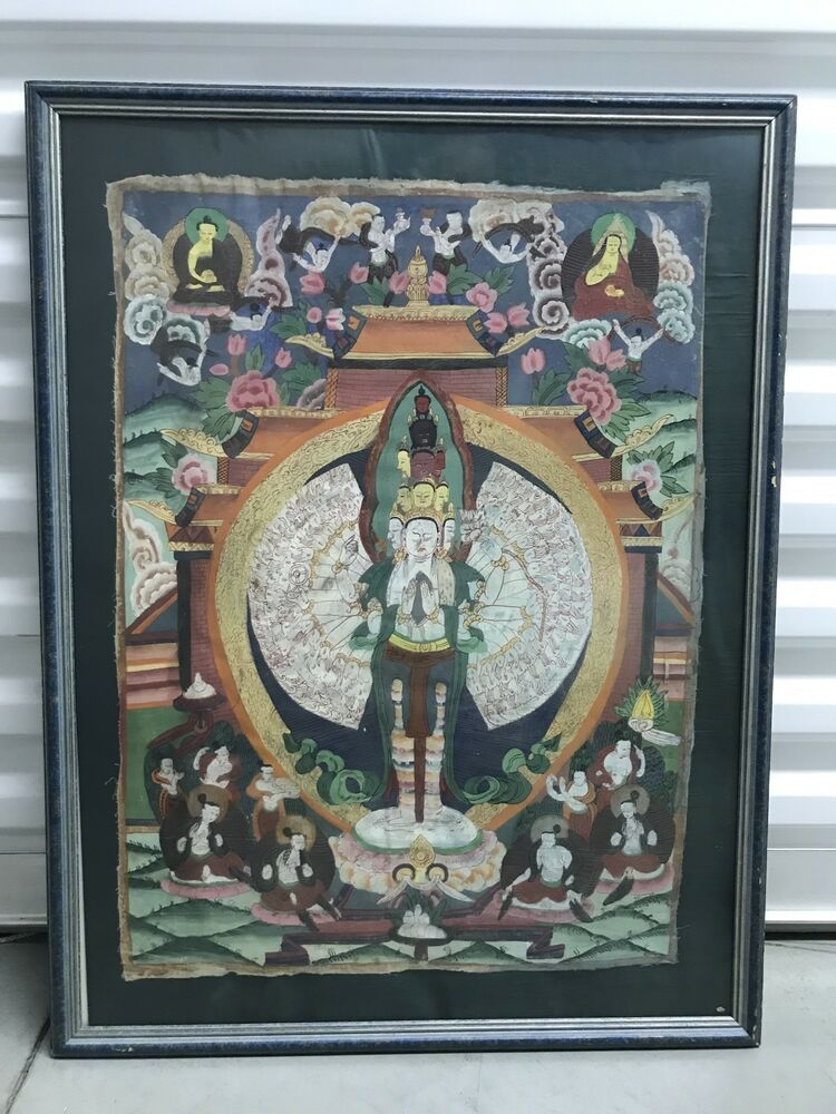 "9.8/"" Chinese Jingdezhen Porcelain Ancient Old Man Ride Deer Ornament Plate 紫气东来"