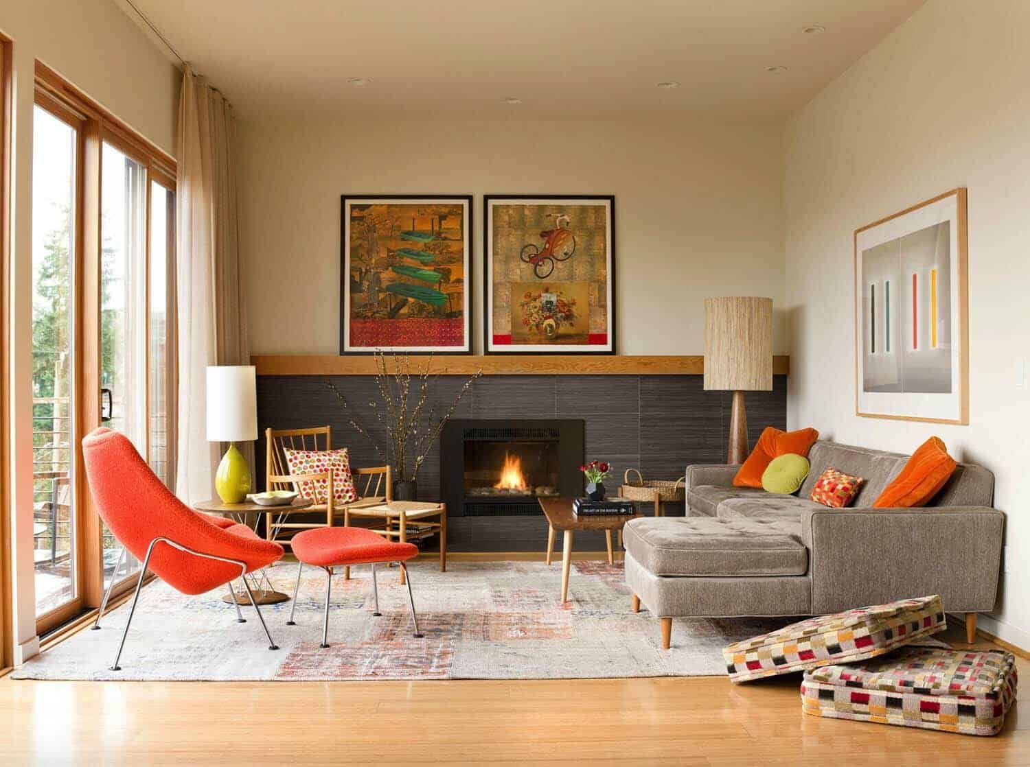 38 Absolutely Gorgeous Mid Century Modern Living Room Ideas Mid