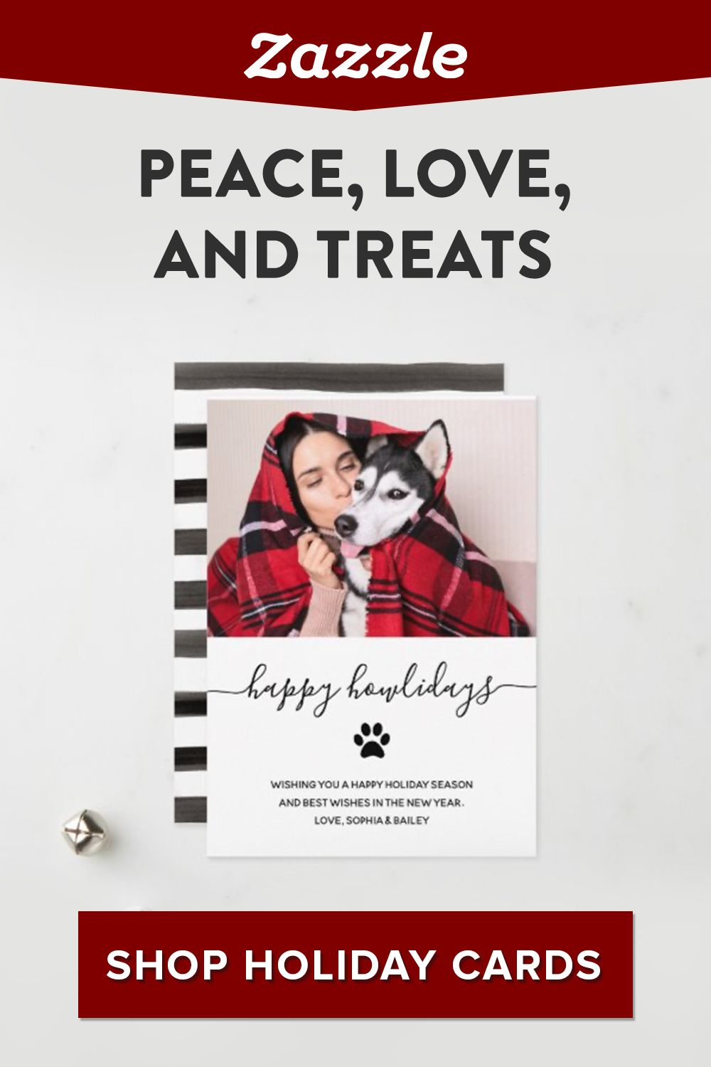 Feature your furry friend on your holiday card this year. Shop Zazzle for thousands of designs - on sale now! Browse gifts for pets including custom pet bowls, pet tags, leashes, and more.
