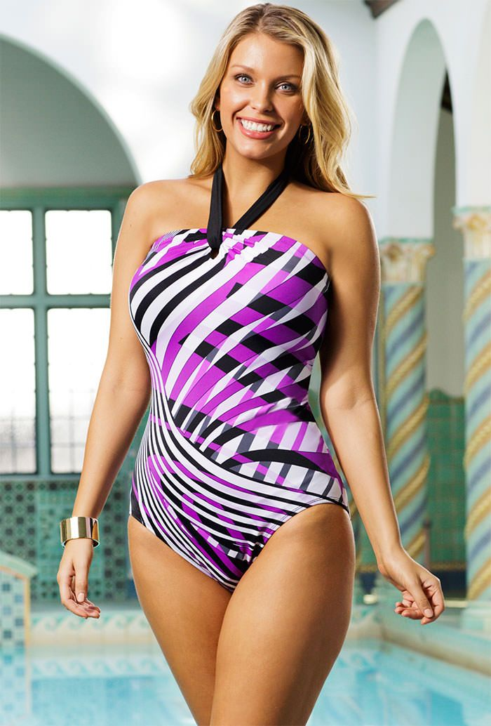 Get milfs in one piece swimsuit porn for free