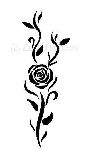 It Will Happen Tatuagens De Rosas Tribais Desenhos Rosas E