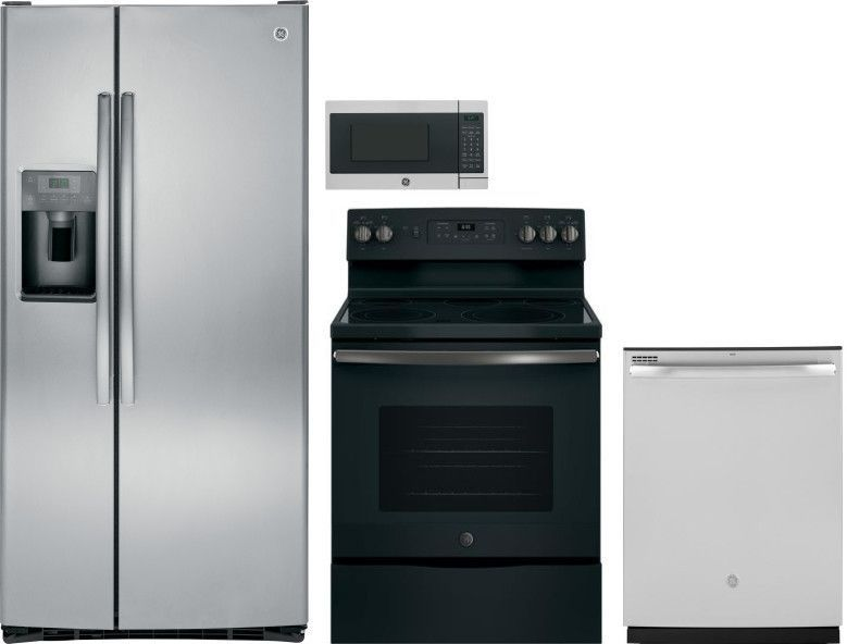 Ge Gereramwdw368 Countertop Kitchen Appliance Packages Kitchen