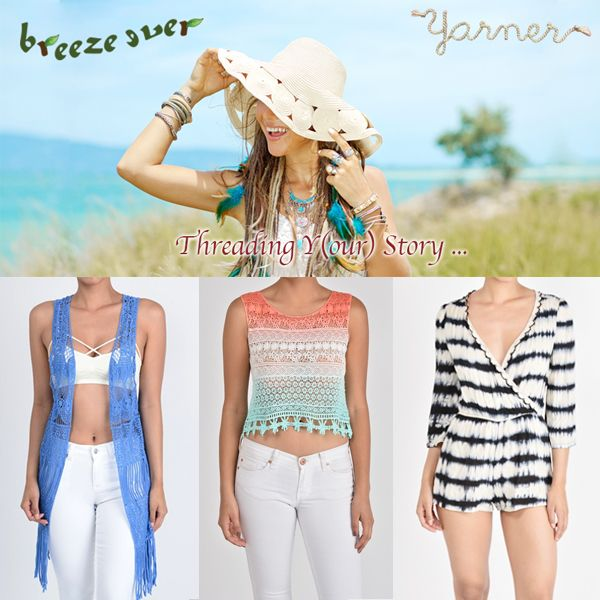 FashionGo's newest vendor, Breeze Ever-Yarner specializes in ...