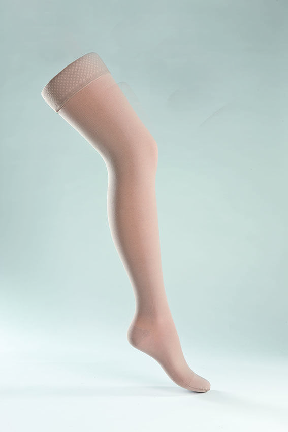 #compressionstockings #compression #stockings #almond www.juzo.com