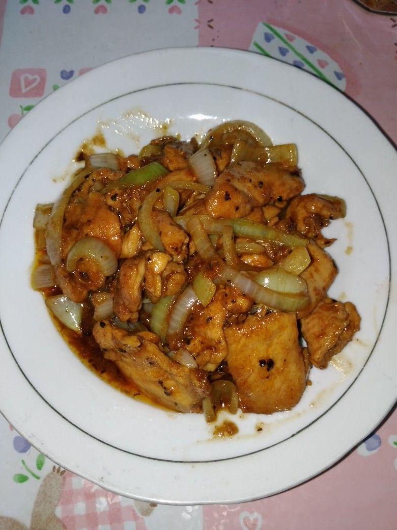 Chicken Yakiniku Makanan Dan Minuman Makanan