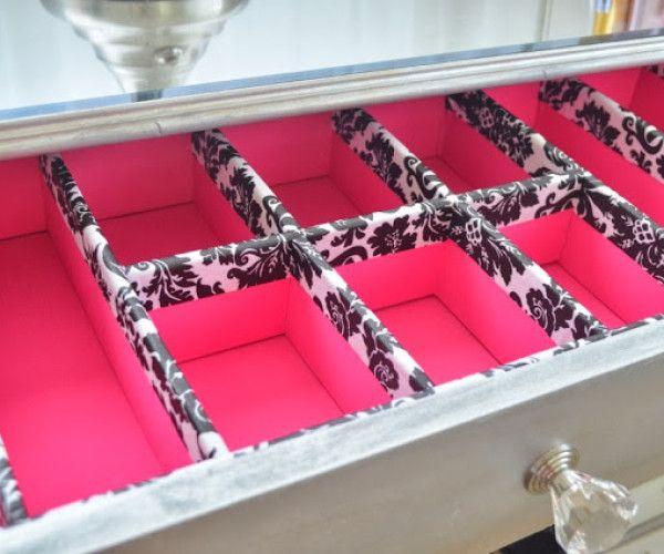Como hacer un organizador de ropa interior decor pinterest organizador de ropa interior - Organizador de ropa interior ...