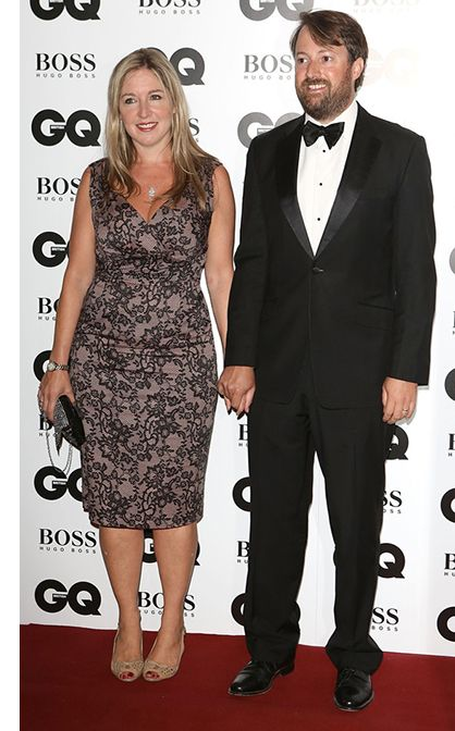 Blog Victoria Coren Mitchell Wears Saint Bustier Gina Dress At Gq Awards With Husband David