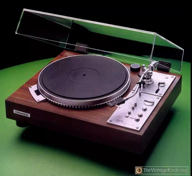 Vintage Pioneer Pl570 Direct Drive Turntable Turntable Vintage Vintage Electronics Vintage Record Player
