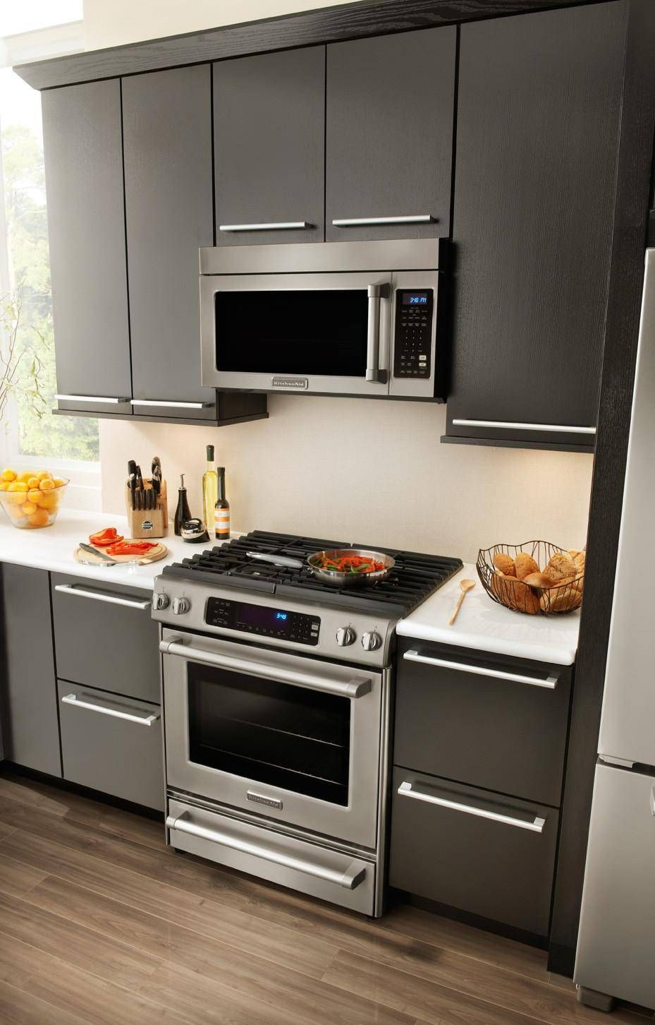 kikbblststco aid black steel kitchenaid package built stainless kitchen appliances in complete