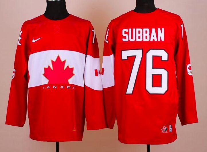 Team Canada Jerseys - 2014 Winter Olympics - P.K. Subban