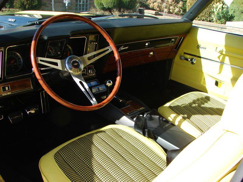 1969 Rallysport Z28 Camaro With Factory Mint Original Yellow