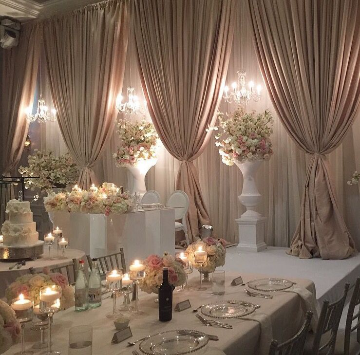 Wedding Reception Head Table Ideas: Follow Us @SIGNATUREBRIDE On Twitter And On FACEBOOK