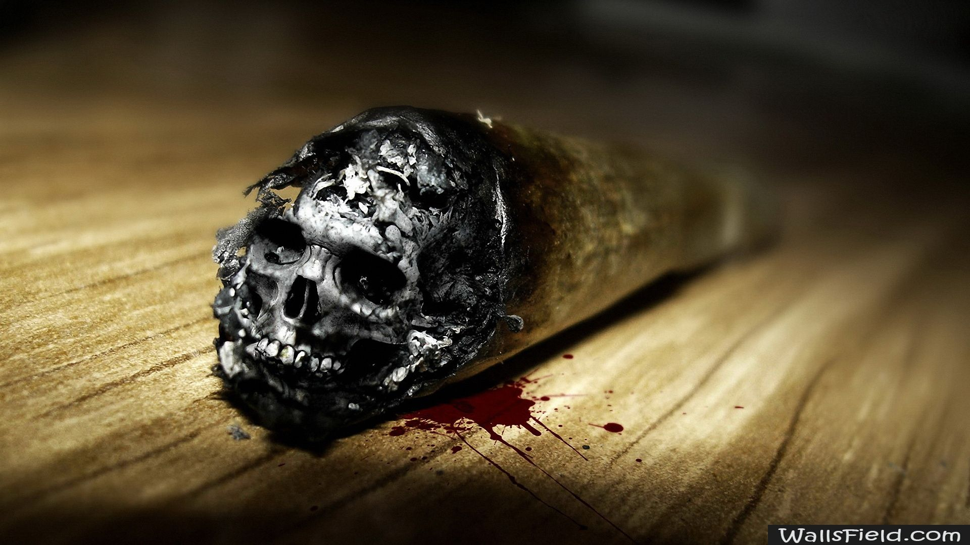 You Can View Download And Comment On Skull The End Cigarette Free Hd Wallpapers For Your Desktop Backgrounds Mobile Tablet In Different Resolutions