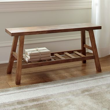 Wood Accent Storage Bench   Jcpenney