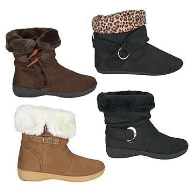 Sag Harbor® Ladies Winter Boots at Big