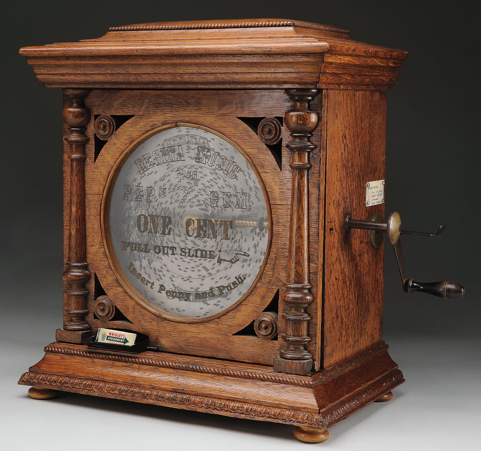 Regina Coin Operated Music Box Music Box Jewelry Antique Music