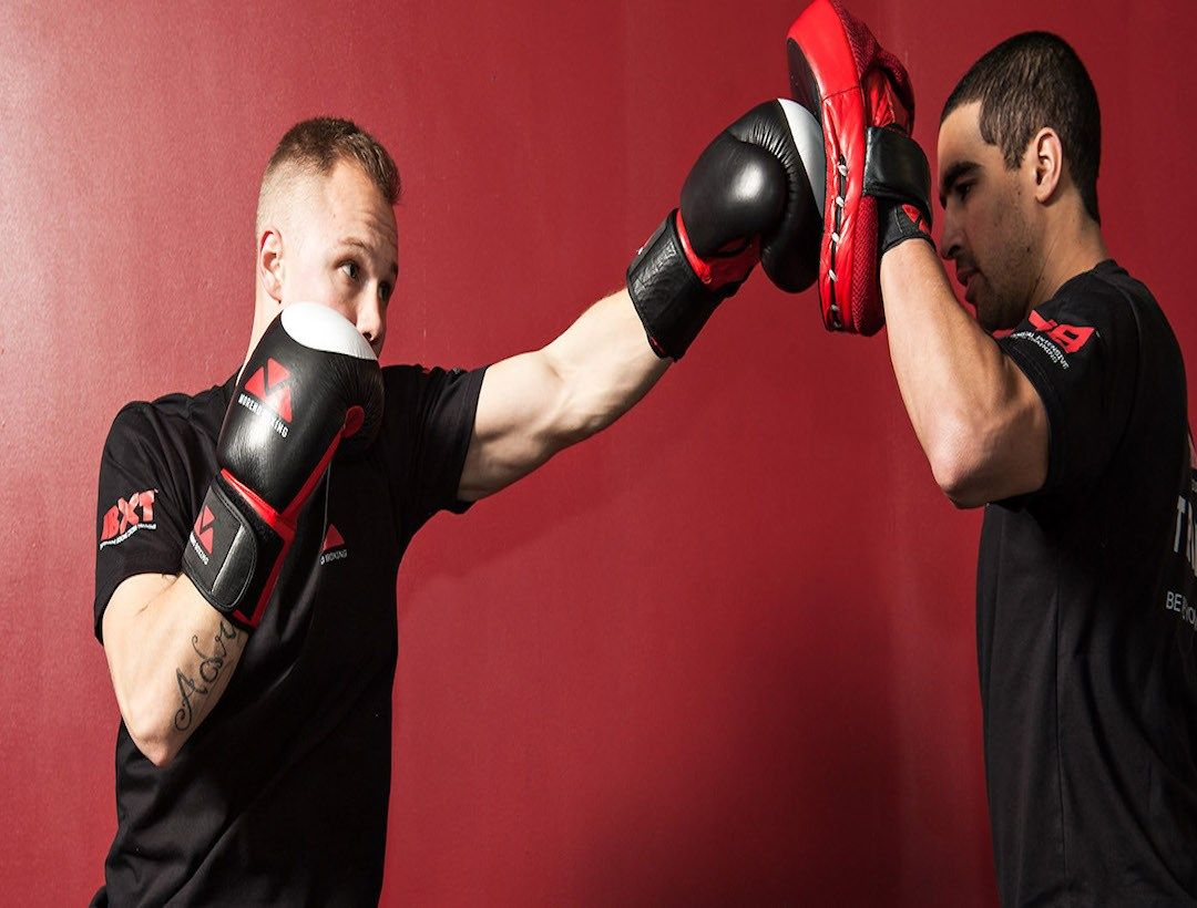 Next Level Fitness Gym in Cork City boxing image