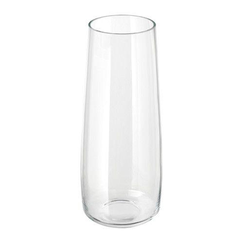 Berkna Vase Clear Glass 45 Cm Scandinavian Pinterest House