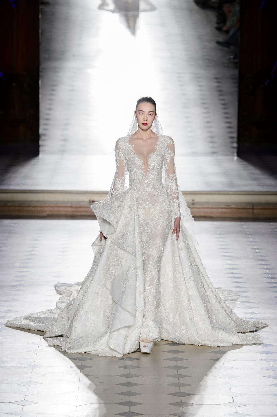 3eb2a4cd743e9b plus belles robes de mariée , Ralph \u0026 Russo Haute couture 2018 ...