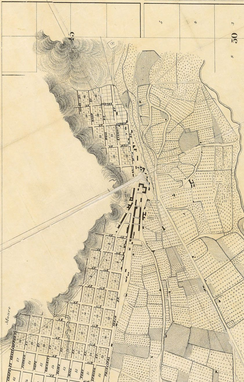 City Of Los Angeles 1857 With Images Cartography Map Urban Mapping Cartography