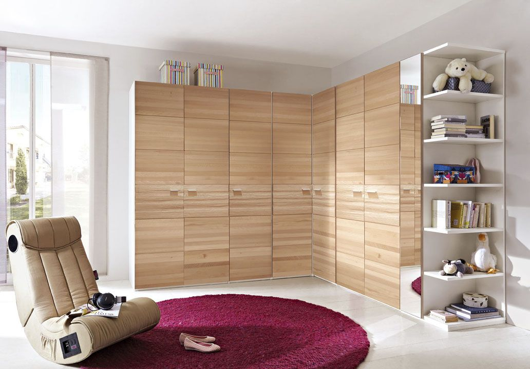 Closet And Wardrobe Designs Awesome Modern Wooden Corner Kids Children Design Ideas Completed With Nice Mirrored Door B