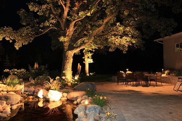 Beautifying Patio Lighting Ideas Of Our Own Outdoor Lounge Area