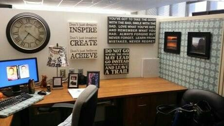 Exceptional Office Cubicle Decor   Home Decor Designs